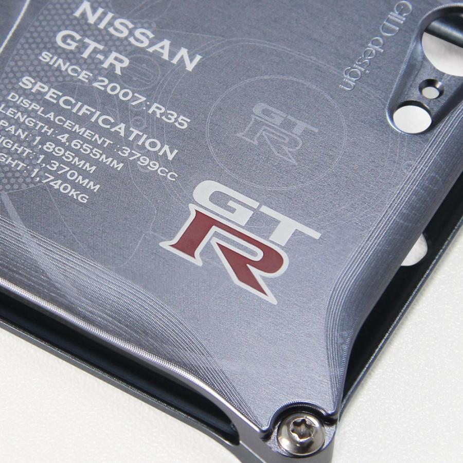日産(NISSAN) GTR for R35 ジュラルミンiPhoneケース [7,8,7Plus/8Plus対応]|nimitts|03