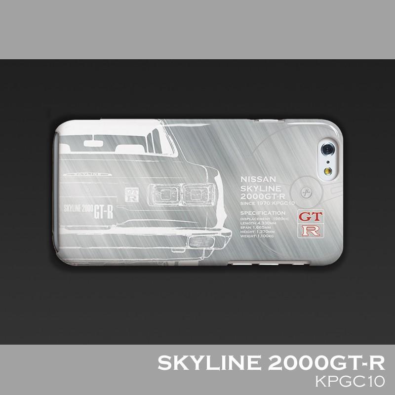 日産(NISSAN) GTR for ハコスカ iPhoneケース(ポリカーボネート) nimitts