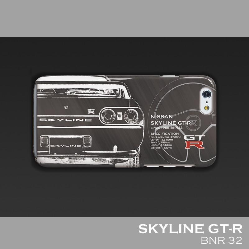 日産(NISSAN) GTR for R32 iPhoneケース(ポリカーボネート)|nimitts