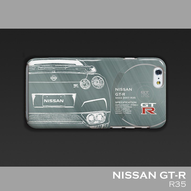 日産(NISSAN) GTR for R35 iPhoneケース(ポリカーボネート)|nimitts