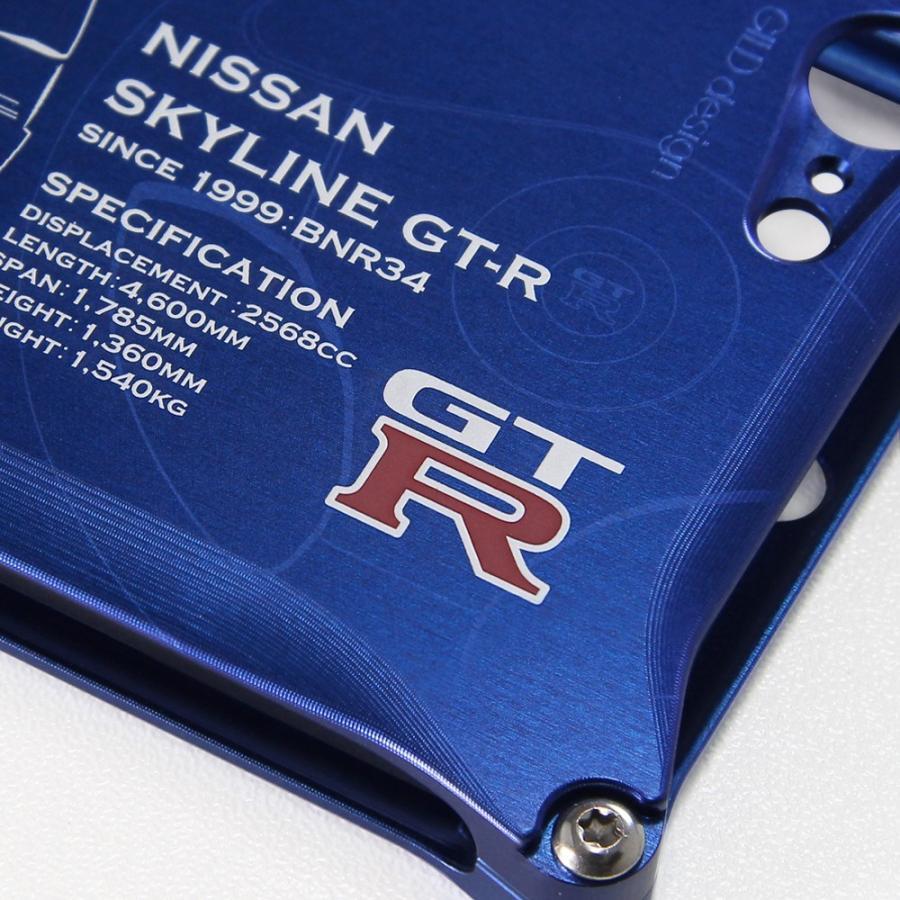日産(NISSAN) GTR for R34 ジュラルミンiPhoneケース [SE(初代)/5/6/6plus対応]|nimitts|03