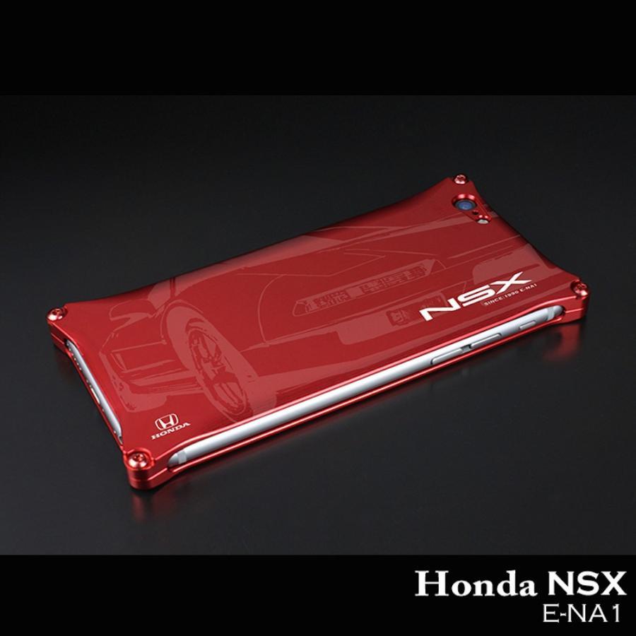 ホンダ(HONDA) NSX for E-NA1 ジュラルミンiPhoneケース [6/7/8対応]|nimitts