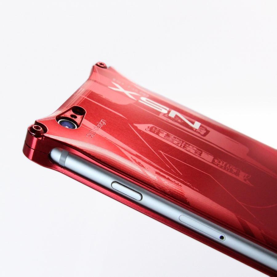 ホンダ(HONDA) NSX for E-NA1 ジュラルミンiPhoneケース [6/7/8対応]|nimitts|02