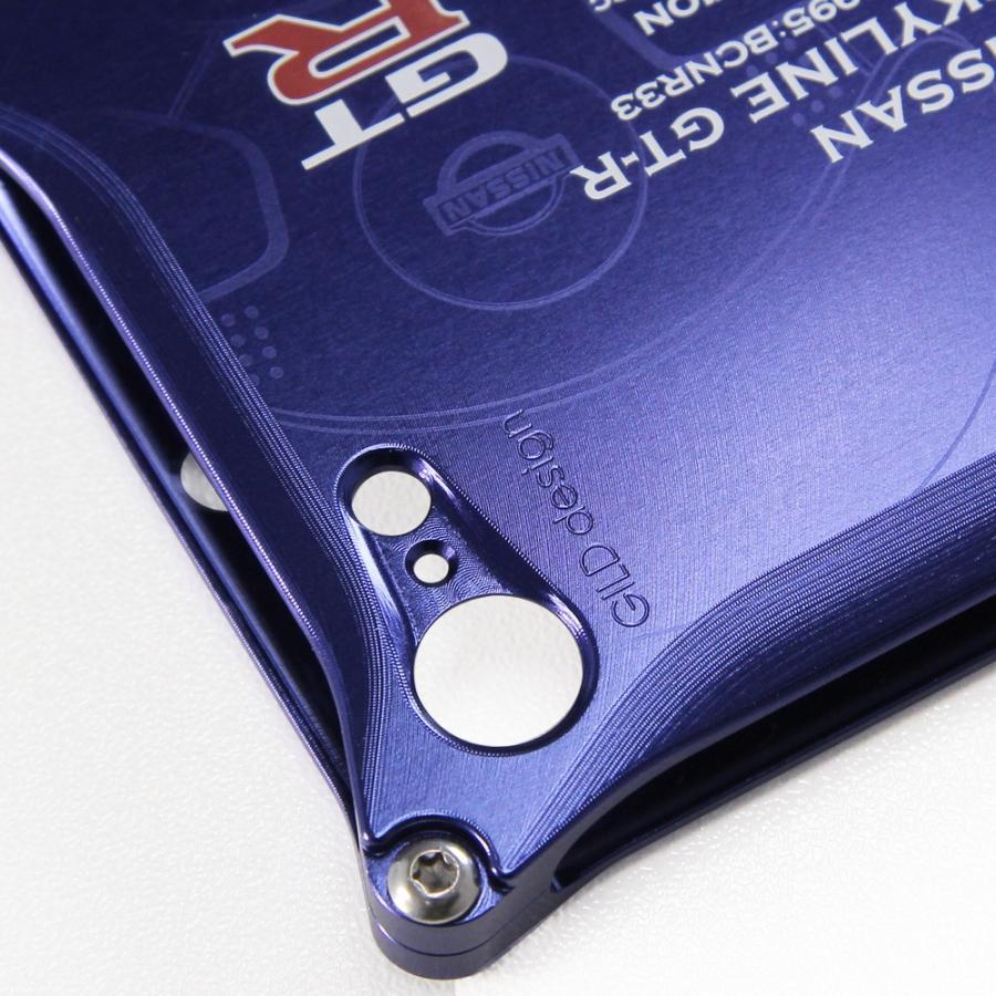 日産(NISSAN) GTR for R33 ジュラルミンiPhoneケース [7,8,SE2対応] nimitts 04