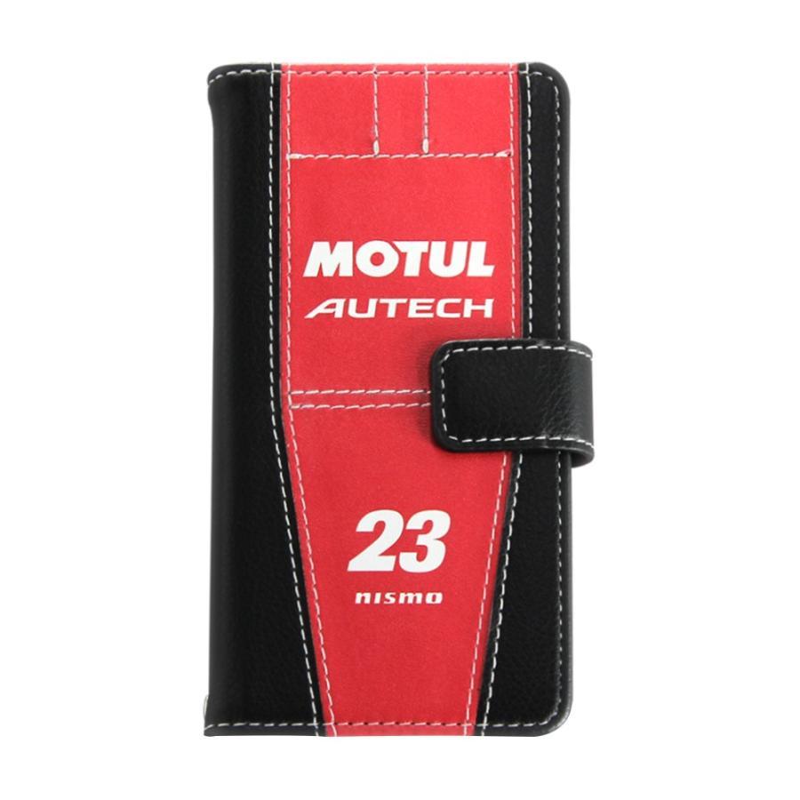 「MOTUL AUTECH GT-R」手帳型iPhoneケース  [iPhoneX/XS,7/8/SE2対応]|nimitts