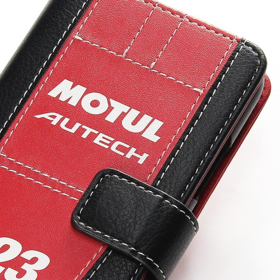 「MOTUL AUTECH GT-R」手帳型iPhoneケース  [iPhoneX/XS,7/8/SE2対応]|nimitts|02