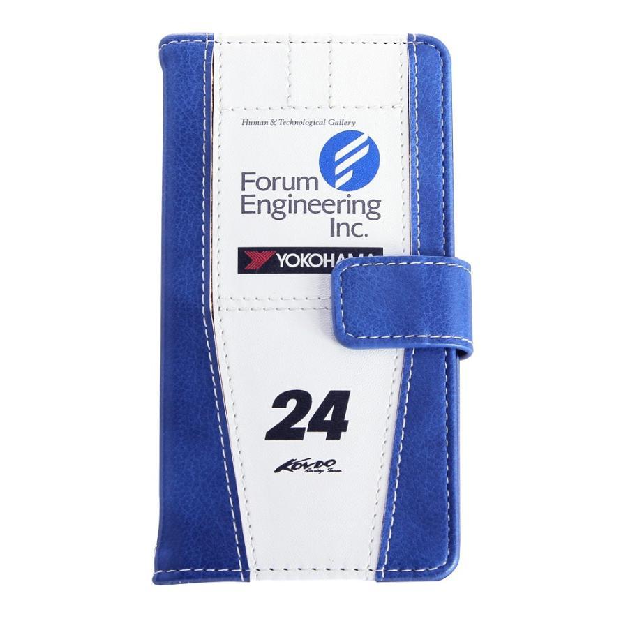 「フォーラムエンジニアリング ADVAN GT-R」手帳型iPhoneケース  [iPhoneX/XS,7/8/SE2対応]|nimitts