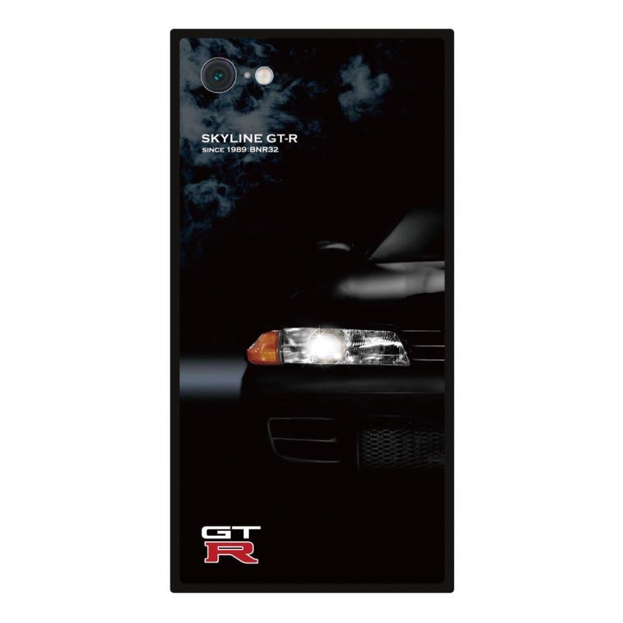 GT-R スクエア型iPhoneケース for BNR32 [iPhoneX/XS,7/8/SE2対応]|nimitts