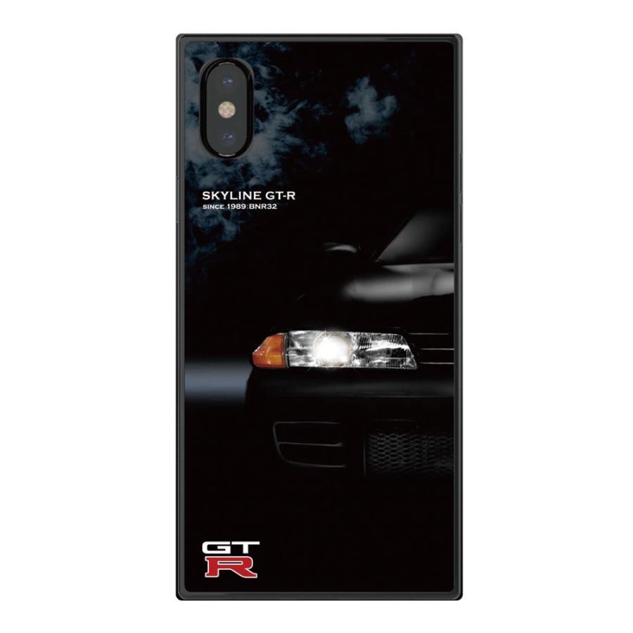 GT-R スクエア型iPhoneケース for BNR32 [iPhoneX/XS,7/8/SE2対応]|nimitts|02