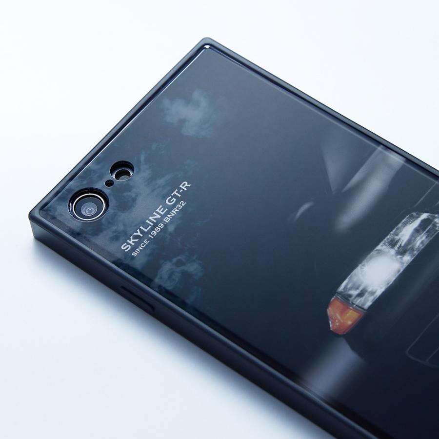 GT-R スクエア型iPhoneケース for BNR32 [iPhoneX/XS,7/8/SE2対応]|nimitts|03