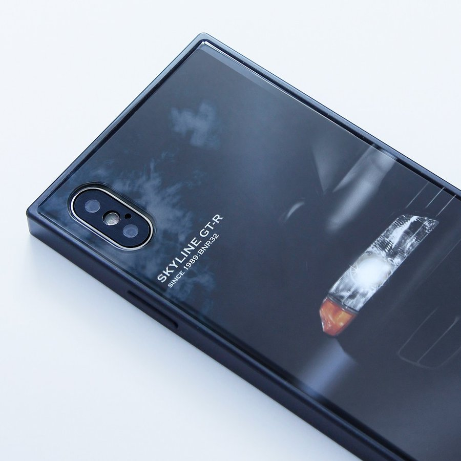 GT-R スクエア型iPhoneケース for BNR32 [iPhoneX/XS,7/8/SE2対応]|nimitts|04