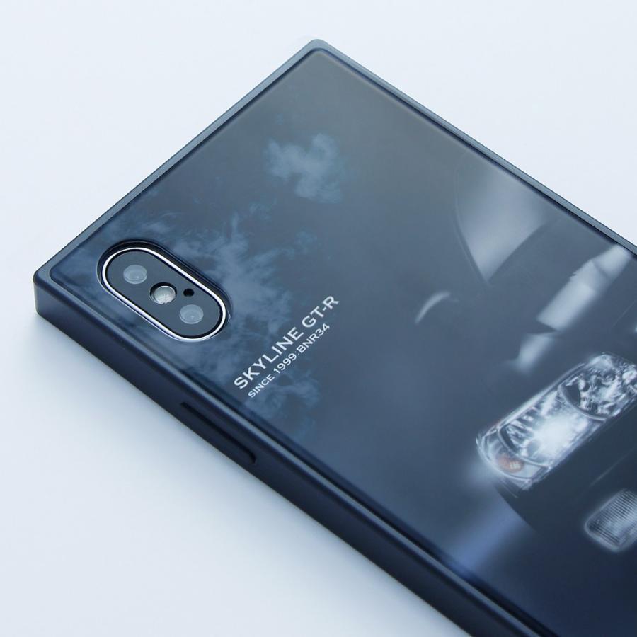 GT-R スクエア型iPhoneケース for BNR34 [iPhoneX/XS,7/8/SE2対応]|nimitts|04