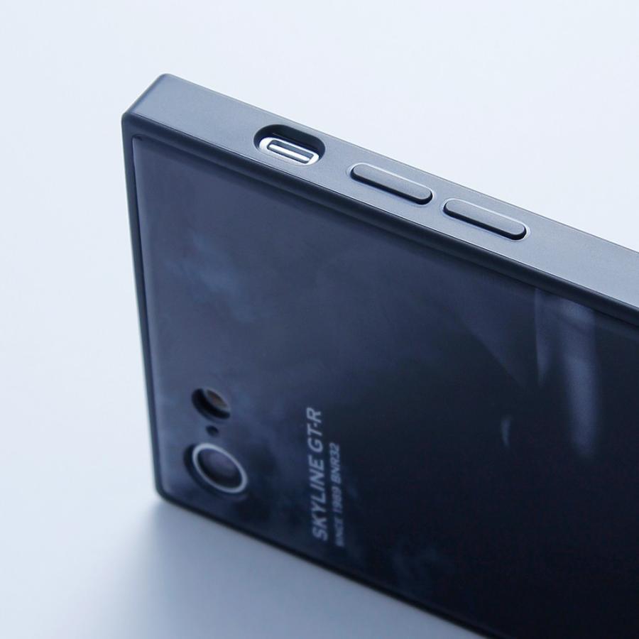 GT-R スクエア型iPhoneケース for BNR34 [iPhoneX/XS,7/8/SE2対応]|nimitts|08