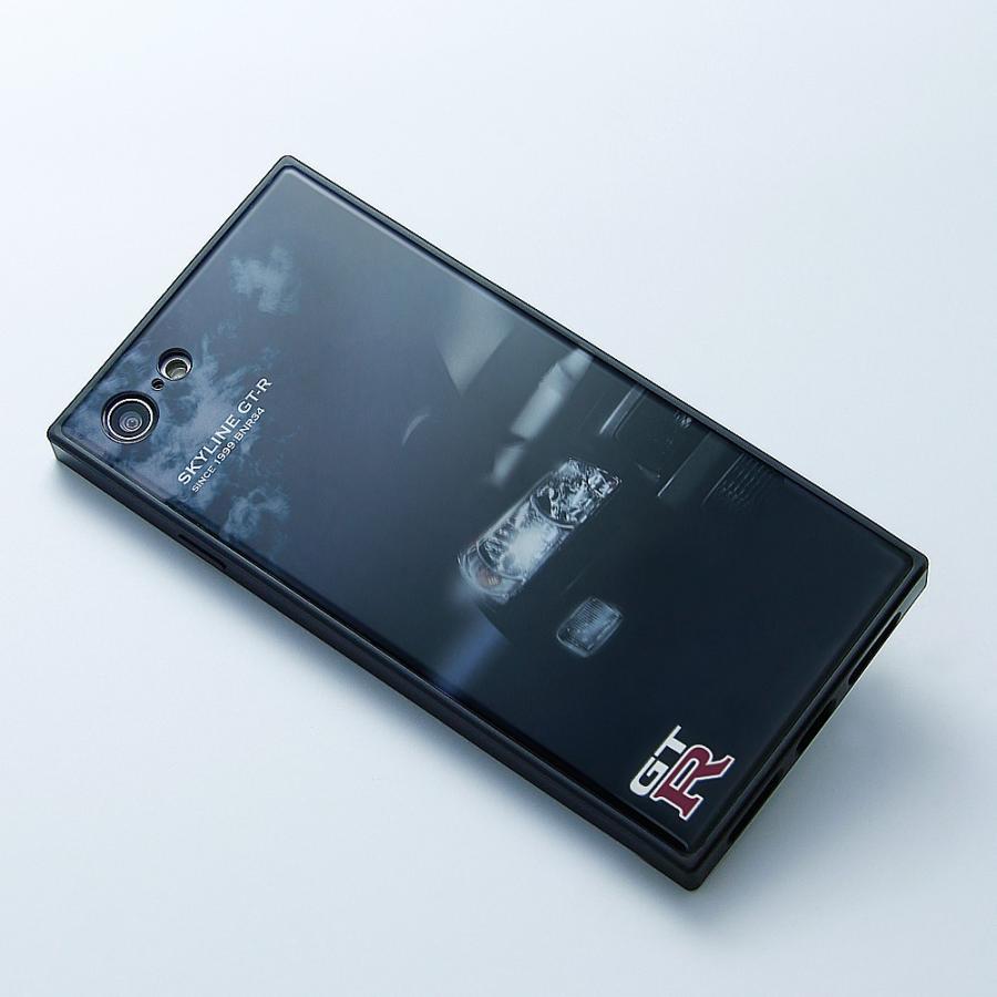 GT-R スクエア型iPhoneケース for BNR34 [iPhoneX/XS,7/8/SE2対応]|nimitts|09