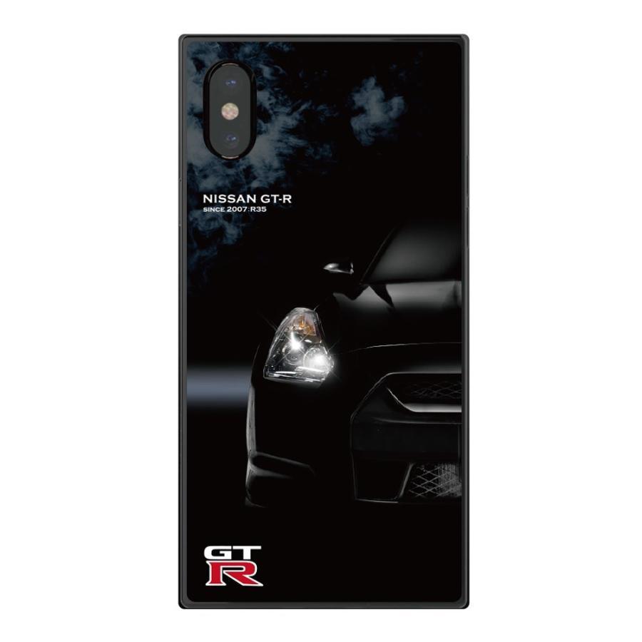 GT-R スクエア型iPhoneケース for R35 [iPhoneX/XS,7/8/SE2対応]|nimitts|02