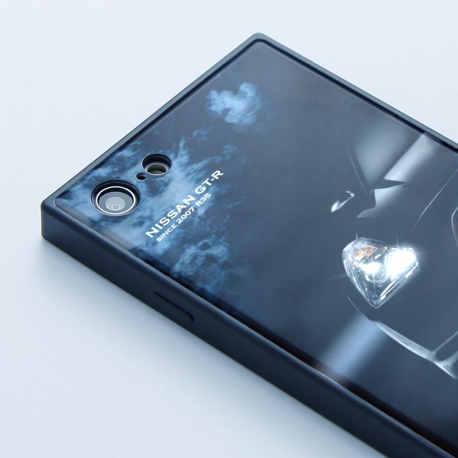 GT-R スクエア型iPhoneケース for R35 [iPhoneX/XS,7/8/SE2対応]|nimitts|03