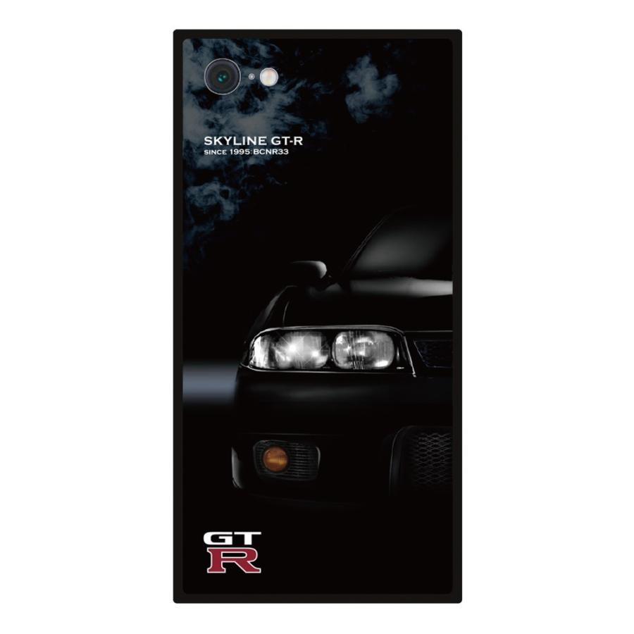 GT-R スクエア型iPhoneケース for BCNR33 [iPhoneX/XS,7/8/SE2対応]|nimitts