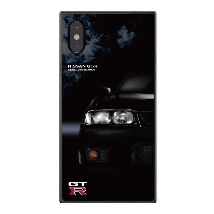 GT-R スクエア型iPhoneケース for BCNR33 [iPhoneX/XS,7/8/SE2対応]|nimitts|02