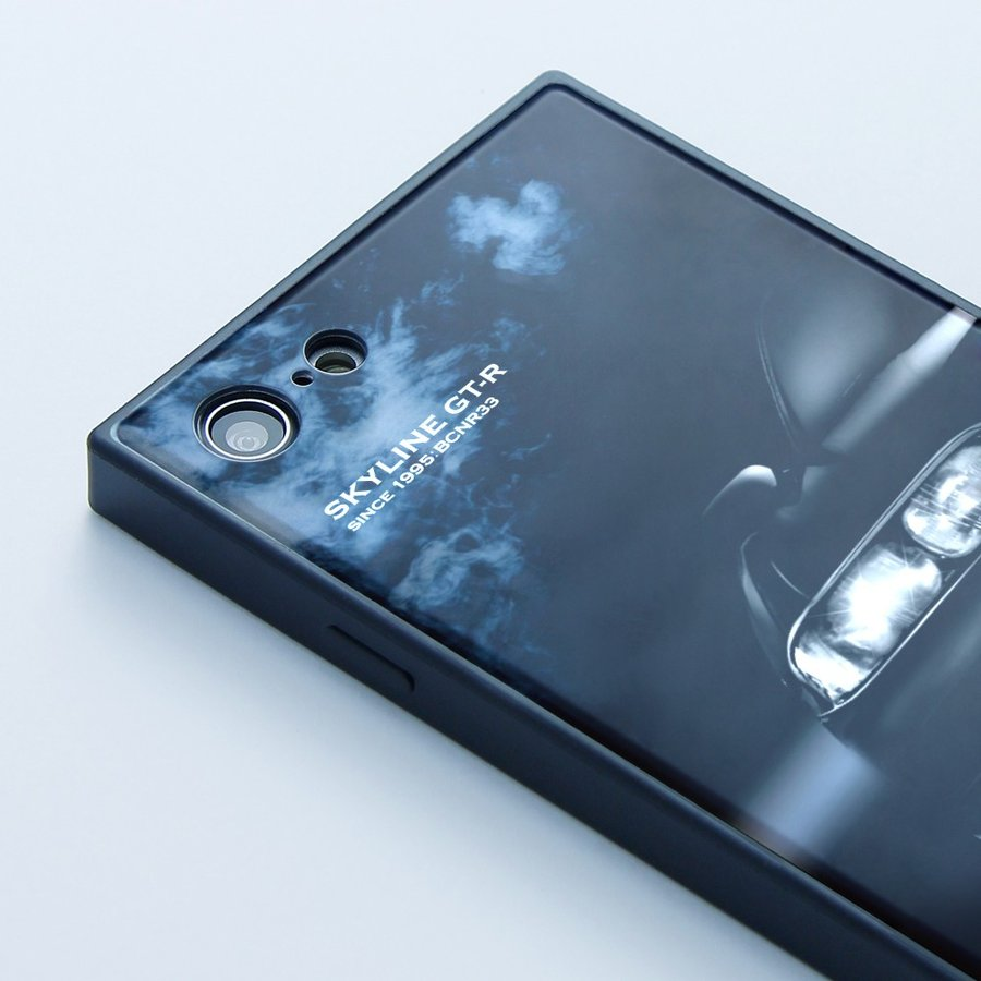 GT-R スクエア型iPhoneケース for BCNR33 [iPhoneX/XS,7/8/SE2対応]|nimitts|03