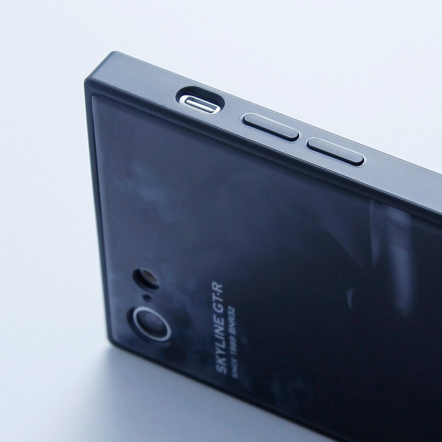 GT-R スクエア型iPhoneケース for BCNR33 [iPhoneX/XS,7/8/SE2対応]|nimitts|08