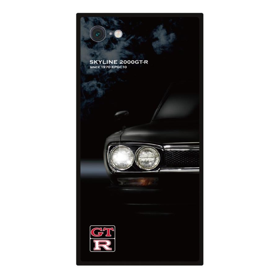 GT-R スクエア型iPhoneケース for KPGC10 [iPhoneX/XS,7/8/SE2対応]|nimitts