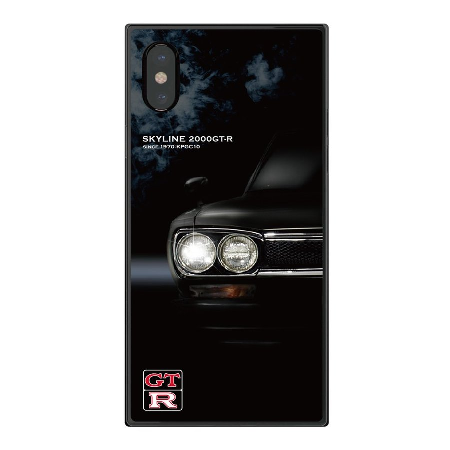 GT-R スクエア型iPhoneケース for KPGC10 [iPhoneX/XS,7/8/SE2対応]|nimitts|02