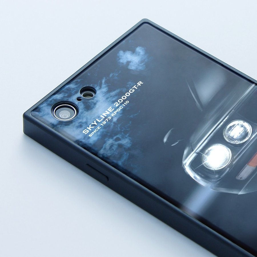 GT-R スクエア型iPhoneケース for KPGC110 [iPhoneX/XS,7/8/SE2対応]|nimitts|03