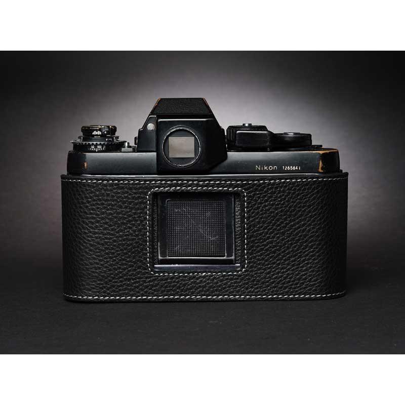 TP Original Nikon F3 専用 レザー カメラケース Black ブラック おしゃれ 速写ケース TB05F3-BK|nineselect|05