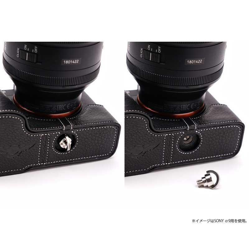 TP Original Nikon F3 専用 レザー カメラケース Black ブラック おしゃれ 速写ケース TB05F3-BK|nineselect|07