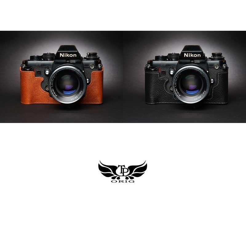 TP Original Nikon F3 専用 レザー カメラケース Black ブラック おしゃれ 速写ケース TB05F3-BK|nineselect|08