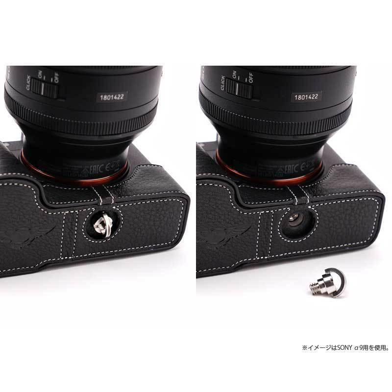 TP Original Nikon Zfc 専用 レザー カメラケース Black ブラック おしゃれ 本革 牛革 速写ケース TB06ZFC-BK nineselect 13