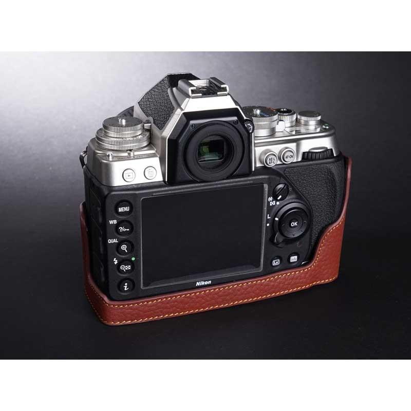 TP Original Nikon Df 専用 レザー カメラケース Black ブラック おしゃれ 速写ケース TB06DF-BK|nineselect|03