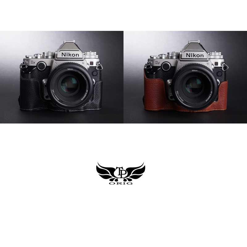TP Original Nikon Df 専用 レザー カメラケース Black ブラック おしゃれ 速写ケース TB06DF-BK|nineselect|07