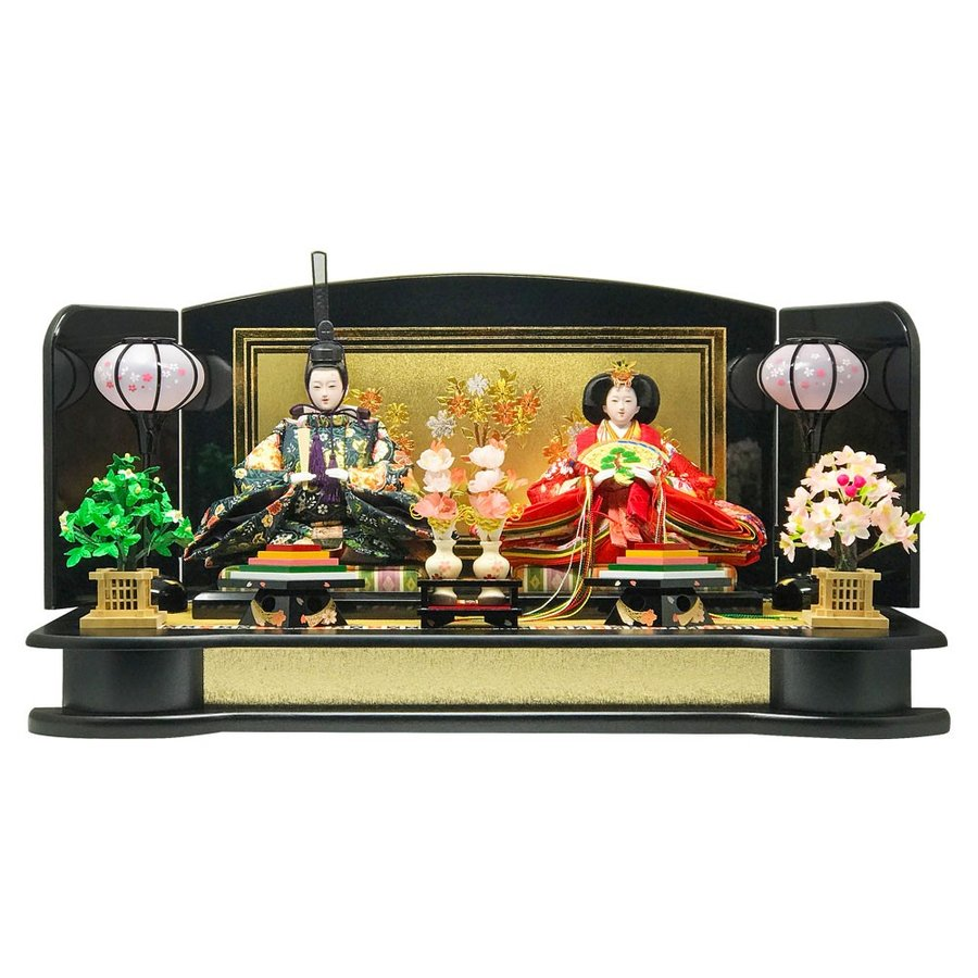 雛人形 ひな人形 平飾り 雛 親王飾り 【2019年度新作】|ningyohonpo|02