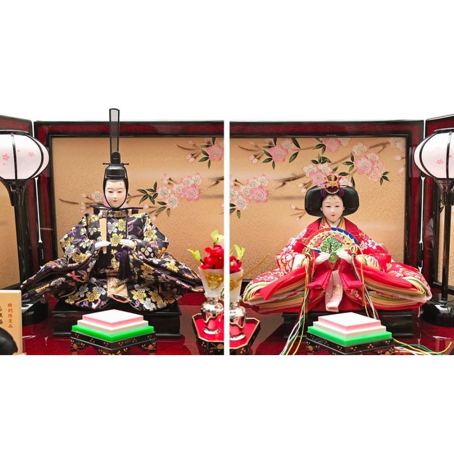 雛人形 ひな人形 三段 雛 段飾り 五人飾り【2019年度新作】|ningyohonpo|02