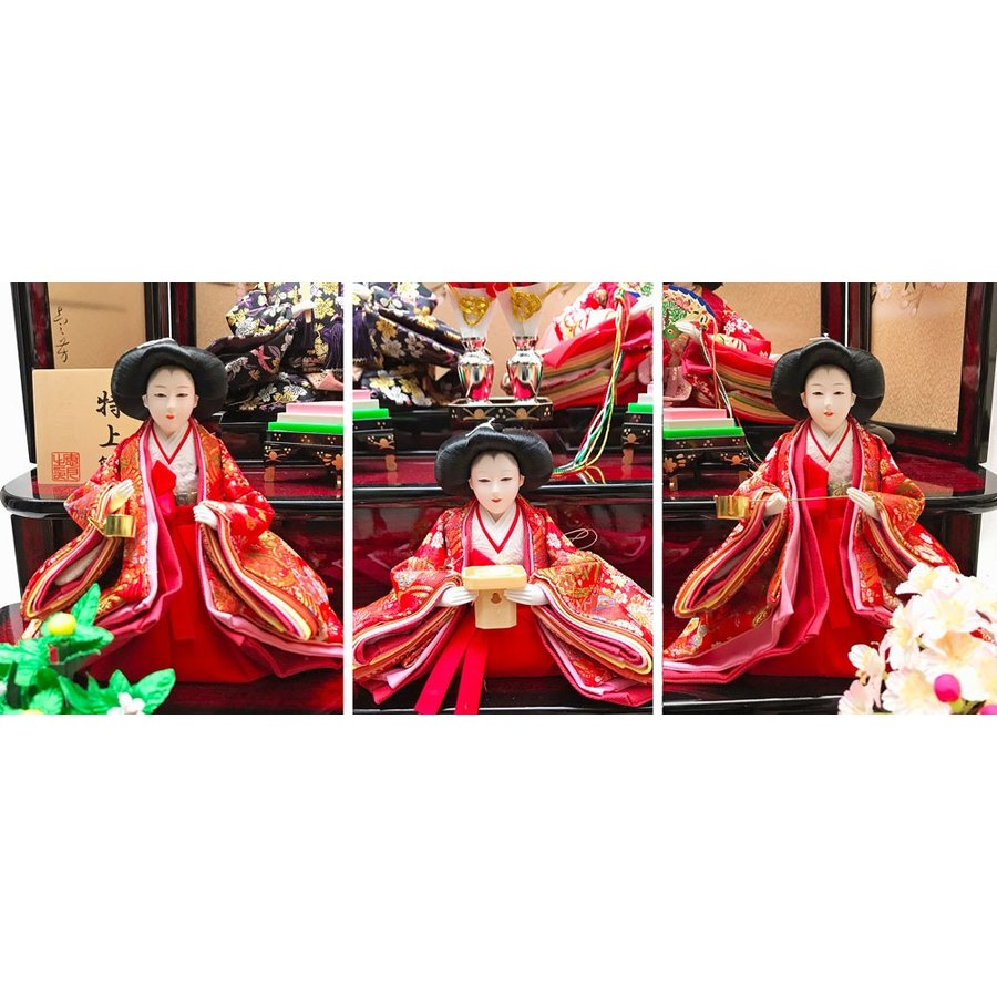 雛人形 ひな人形 三段 雛 段飾り 五人飾り【2019年度新作】|ningyohonpo|03