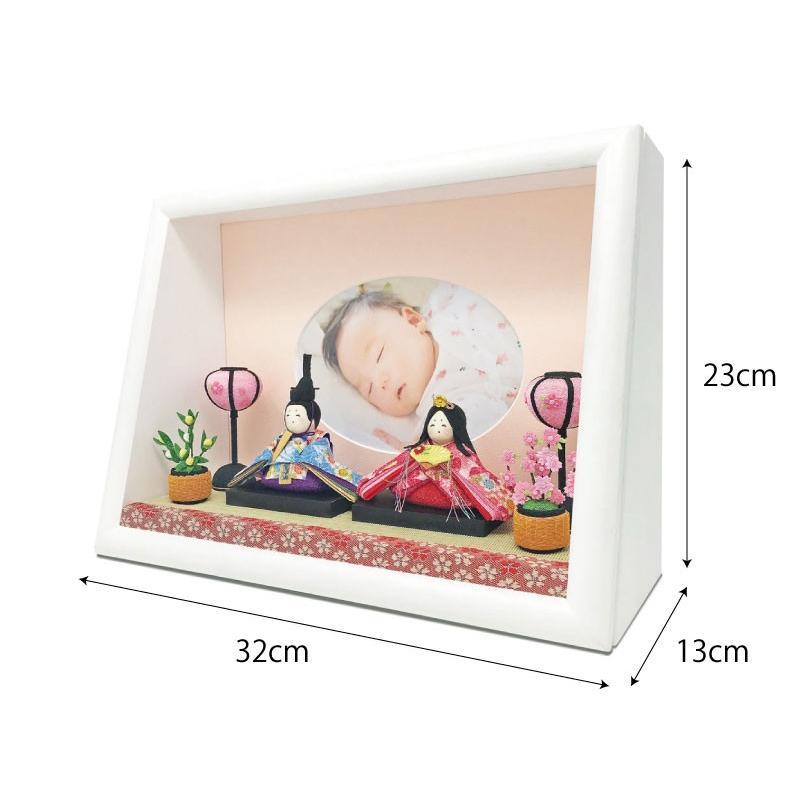 雛人形 ひな人形 おしゃれ かわいい おひなさま お雛様 数量限定!コンパクト卓上親王アクリルケース飾り 2021|ningyohonpo|11