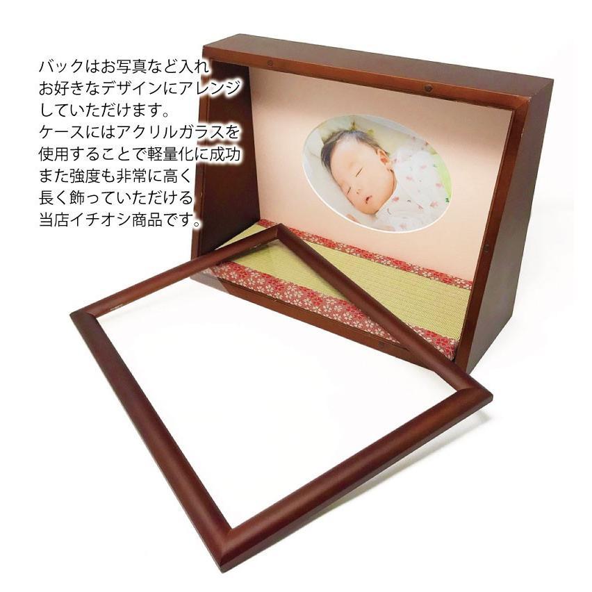雛人形 ひな人形 おしゃれ かわいい おひなさま お雛様 数量限定!コンパクト卓上親王アクリルケース飾り 2021|ningyohonpo|10