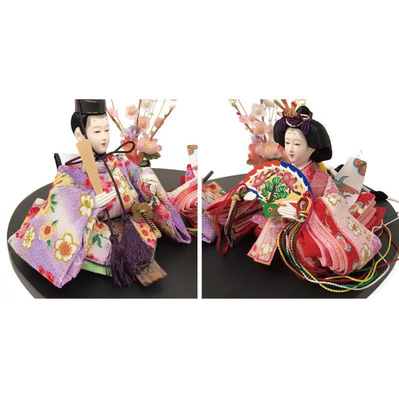 雛人形 ひな人形 まるがた雛 コンパクト 雛 親王飾り|ningyohonpo|04