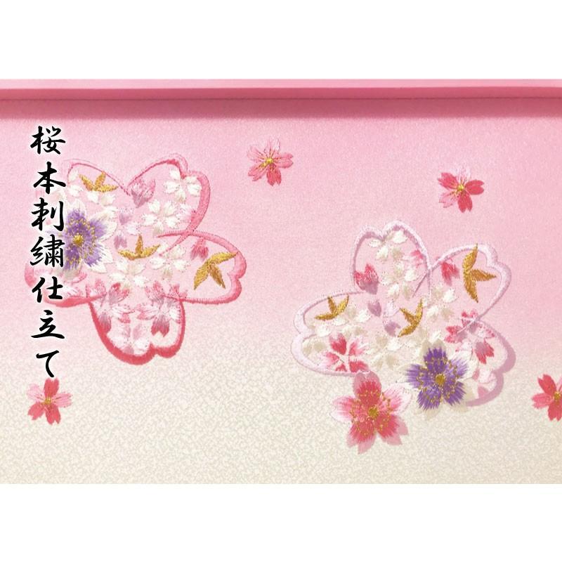 雛人形 ひな人形 ピンクケース コンパクト 雛 ケース飾り 親王飾り【2021年度新作】 ningyohonpo 12