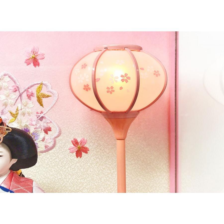 雛人形 ひな人形 ピンクケース コンパクト 雛 ケース飾り 親王飾り【2021年度新作】 ningyohonpo 10