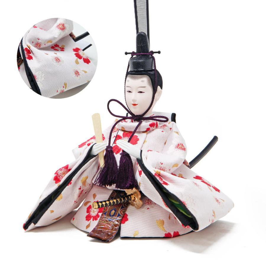 雛人形 ひな人形 ピンクゴールド収納 コンパクト 雛 収納飾り 親王飾り ningyohonpo 06