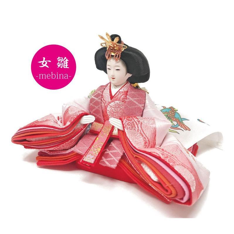 雛人形 ひな人形 コンパクト 小さい 雛 収納飾り 親王飾り【2021年度新作】|ningyohonpo|07