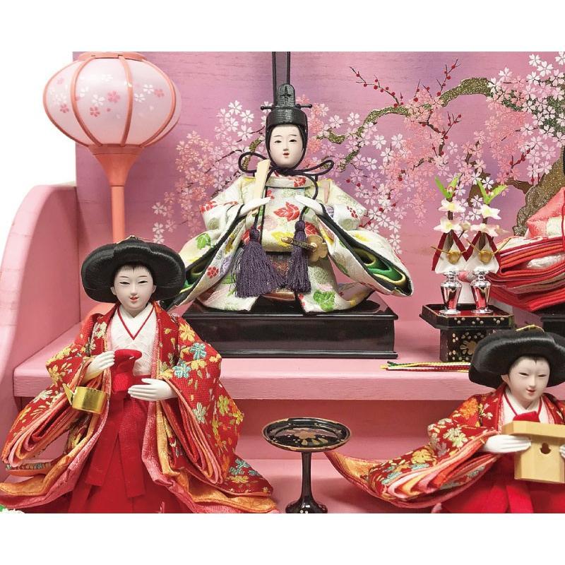 雛人形 ひな人形 焼桐三段飾り|ningyohonpo|13