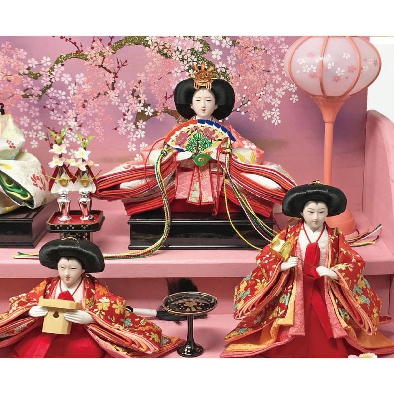 雛人形 ひな人形 焼桐三段飾り|ningyohonpo|14