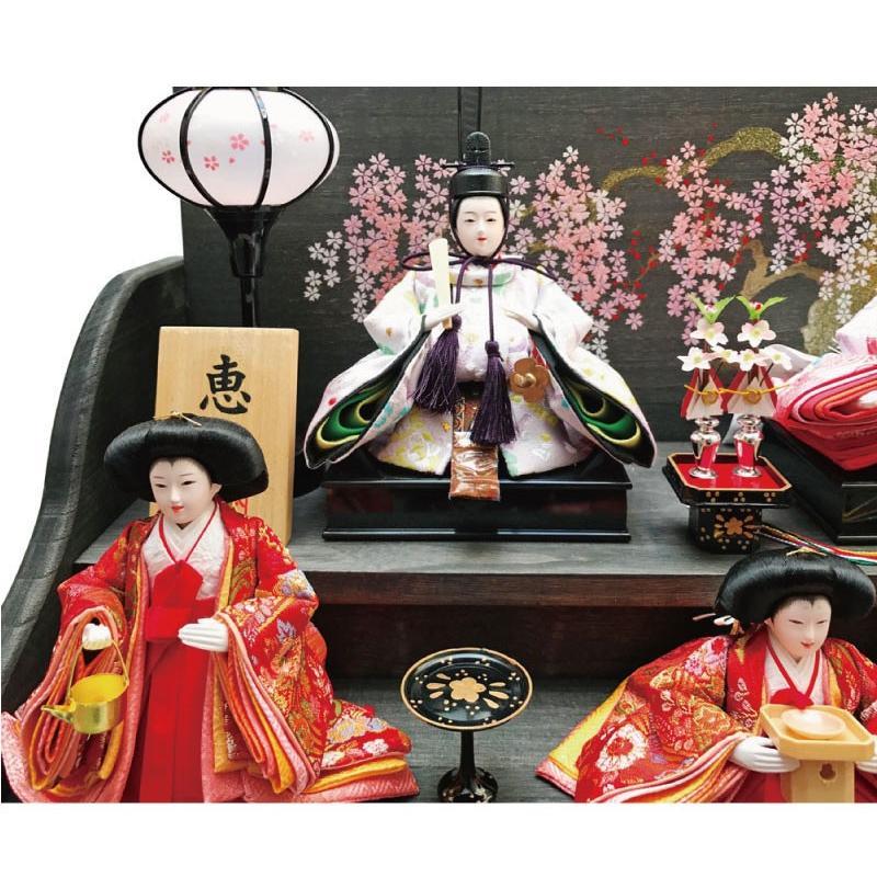 雛人形 ひな人形 焼桐三段飾り|ningyohonpo|05