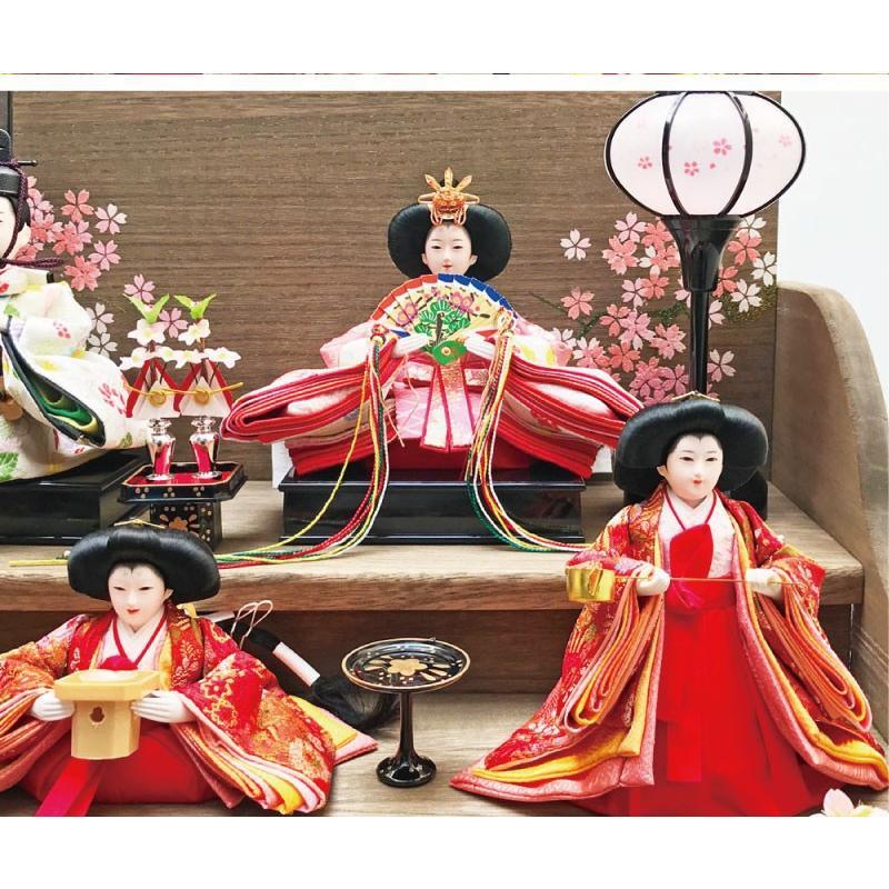 雛人形 ひな人形 焼桐三段飾り|ningyohonpo|10