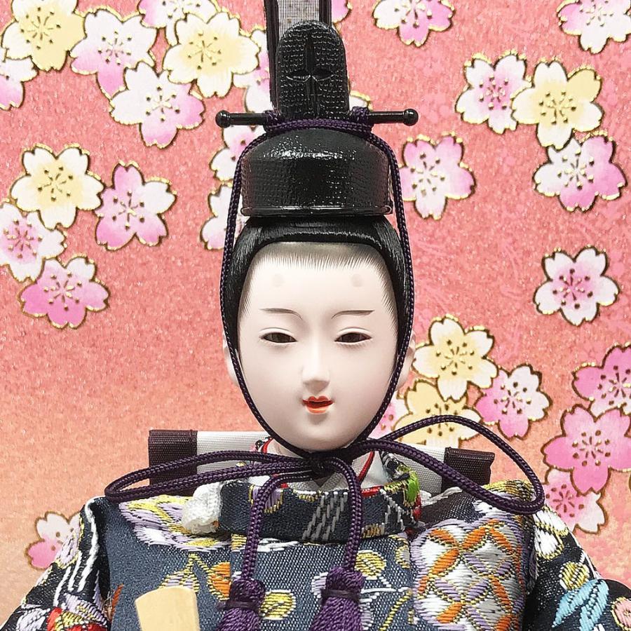 雛人形 ひな人形 コンパクト 小さい 雛 平飾り 親王飾り 【2021年度新作】|ningyohonpo|05