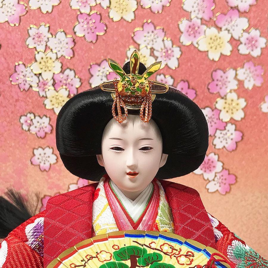雛人形 ひな人形 コンパクト 小さい 雛 平飾り 親王飾り 【2021年度新作】|ningyohonpo|06