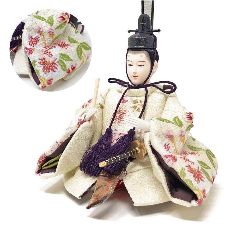 雛人形 ひな人形 ピンク平飾り コンパクト 雛 平飾り 親王飾り|ningyohonpo|05